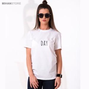 ست تی شرت مردانه و زنانه Night-Day-تصویر 3