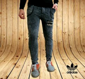 شلوار اسلش طرح جین Adidas-تصویر 2