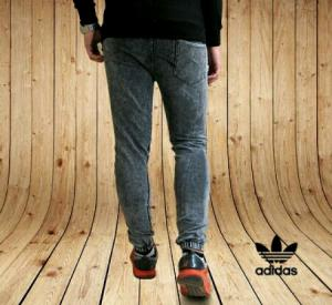 شلوار اسلش طرح جین Adidas-تصویر 4