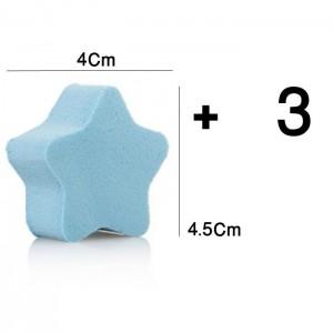 پد آرایشی اسفنجی چیکا مدل ستاره پکیج 4 عددی