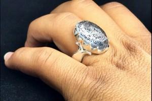 انگشتر در نجف اصلی ۱۴معصوم-تصویر 2