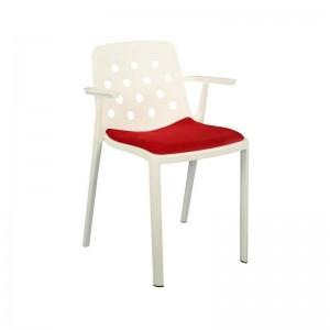 صندلی رستورانی تمام پلاستیک مدل بریستو استیل هامون