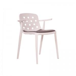 صندلی رستورانی تمام پلاستیک مدل بریستو استیل هامون-تصویر 2