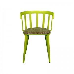 صندلی رستورانی تمام پلاستیک مدل وینسور استیل هامون