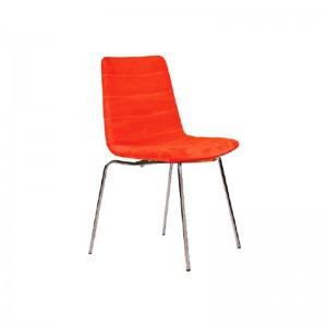 صندلی رستورانی پایه فلزی کوره ای مدل فونیکس استیل هامون