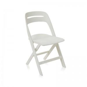 صندلی رستورانی پلاستیکی تاشو مدل ماکان استیل هامون-تصویر 3