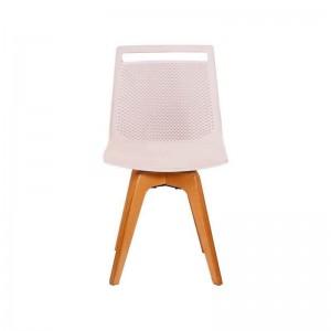 صندلی رستورانی پایه چوبی مدل آکامی استیل هامون