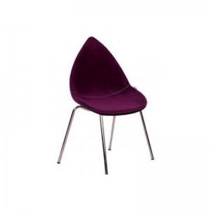 صندلی رستورانی پایه فلزی مدل دیبا استیل هامون
