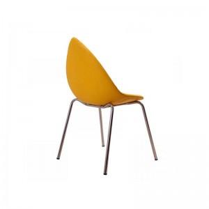 صندلی رستورانی پایه فلزی مدل دیبا استیل هامون-تصویر 2