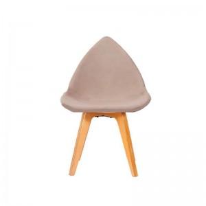 صندلی اپن ثابت با پایه چوبی مدل دیبا استیل هامون
