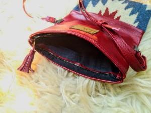 کیف دوشی چرم آدلیا (چیلیپا)-تصویر 3
