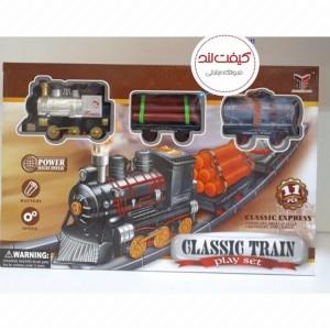 اسباب بازی قطار به همراه ریل