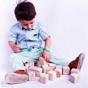 آجرک نونهالان | مکعب چوبی رنگارنگ-تصویر 2
