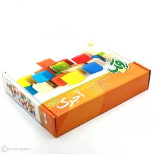 آجرک نونهالان | مکعب چوبی رنگارنگ-تصویر 5