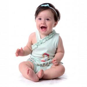 تاپ دخترانه طرح عروسکی-تصویر 2