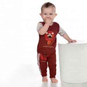شلوار پسرانه طرح شیر-تصویر 3