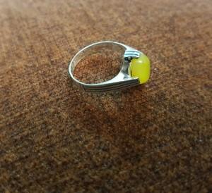 انگشتر نقره مردانه مدلSA_231-تصویر 5