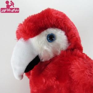 عروسک نمایشی طوطی قرمز-تصویر 2