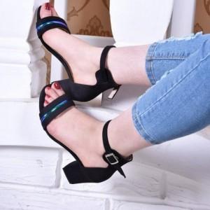 کفش پاشنه دار رویه هولوگرام-تصویر 5