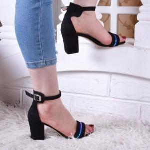 کفش پاشنه دار رویه هولوگرام-تصویر 4