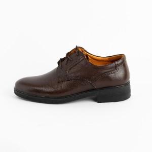 کفش مجلسی تمام چرم گاوی مردانه مدل t24-تصویر 2