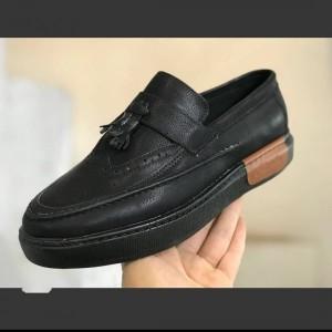 کفش کالج مردانه طرح بامبو