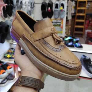 کفش کالج مردانه طرح بامبو-تصویر 3