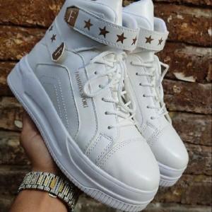 کفش کتونی نیم بوت دخترونه-تصویر 4