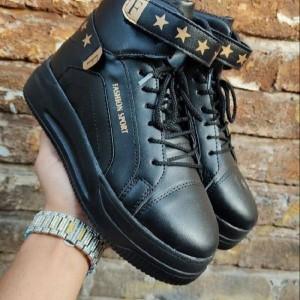 کفش کتونی نیم بوت دخترونه-تصویر 3