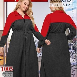 سوییشرت مانتویی سایز بزرگ-تصویر 2