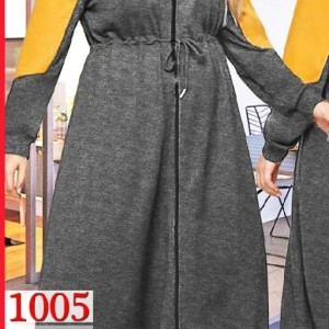 سوییشرت مانتویی سایز بزرگ