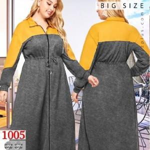 سوییشرت مانتویی سایز بزرگ-تصویر 3