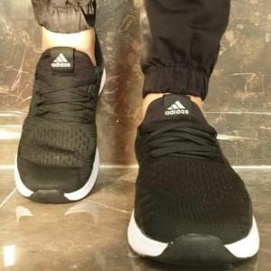 کفش کتونی اسپرت آدیداس جورابی مردانه-تصویر 3