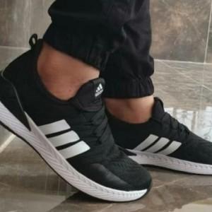 کفش کتونی اسپرت آدیداس جورابی مردانه