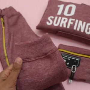 سه تیکه هودی شلوار وکیف کمری بچگانه surfing-تصویر 3