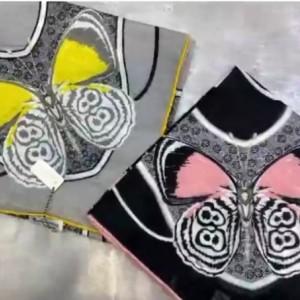 روسری نخی طرح پروانه-تصویر 2