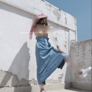 دامن جین کیپاش ترک-تصویر 2