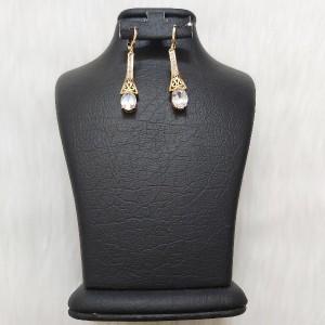 گوشواره زنانه مدل فانتزی طرح الماس کد ng110-تصویر 2