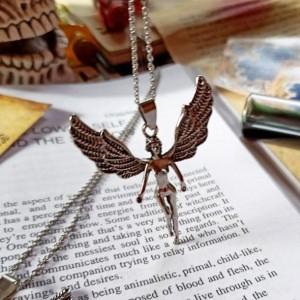 گردنبند مدل فرشته طرح بالدار
