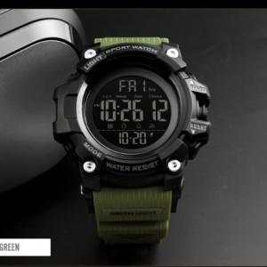 ساعت اسکمی skmei ضدضربه رنگ نظامی مدل 1384-تصویر 4
