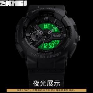 ساعت اسکمی skmei ضدضربه اورجینال مدل 1688 رنگ بلک-تصویر 3