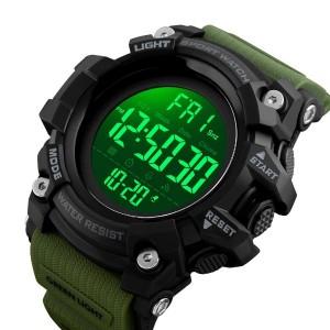 ساعت اسکمی skmei ضدضربه رنگ نظامی مدل 1384-تصویر 3