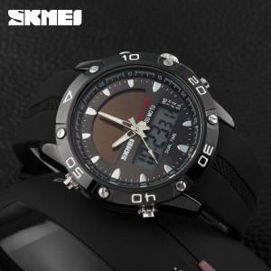 ساعت اسکمی skmei اورجینال دوزمانه دارای پنل نوری-تصویر 2
