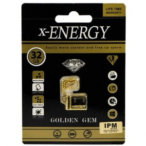 فلش مموری X-Energy GOLDEN GEM-32GB-تصویر 2