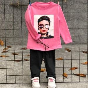 بلوز شلوار دختر عینک ساعتی-تصویر 5