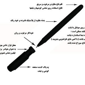 قلم لمسی مدل 44880444-تصویر 2