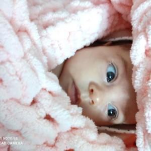 پتو نوزادی پافی تاج ماه (کد دلبر)-تصویر 2