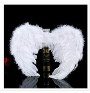 بال فرشته از پر واقعی