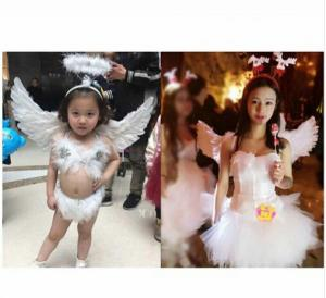 بال فرشته از پر واقعی-تصویر 4