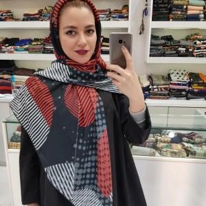 روسری نخ ابریشم-تصویر 2